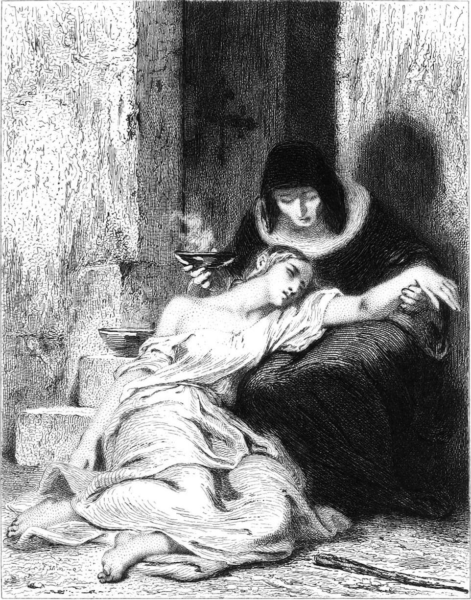 Легенда о сестре Беатрикс, Tony Johannot